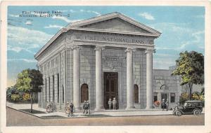 D82/ Wisconsin Rapids Wisconsin Wi Postcard 1925 First National Bank Building