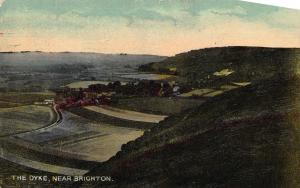 Vintage Postcard The Dyke Near BRIGHTON East Sussex
