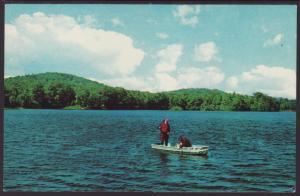 Greetings From Newfound Lake,Bristol,NH Postcard BIN