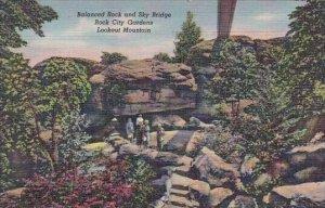 Balanced Rock And Sky Bridge Rock City Gardens Lookout Mountain Colorado
