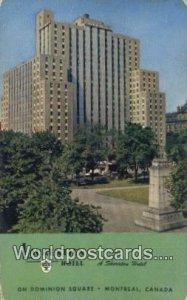 Laurentien Hotel Montreal Canada 1957