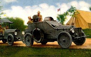 Military - Armored Machine Gun Car