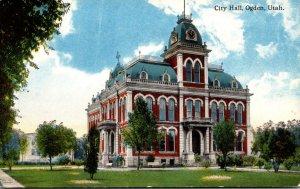 Utah Ogden City Hall Curteich