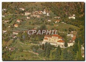 Postcard Modern Aerofoto Brenscino Brissago