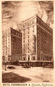 Nebraska Lincoln Hotel Cornhusker