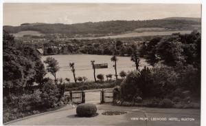 Derbyshire; View From Leewood Hotel, Buxton RP PPC, Unposted by Boards Of Buxton