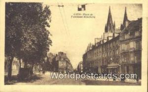Caen, France, Carte, Postcard Place de I'ancienne Boucherie Caen Place de I'a...