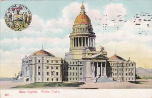 State Capitol, BOISE, Idaho, PU-1908