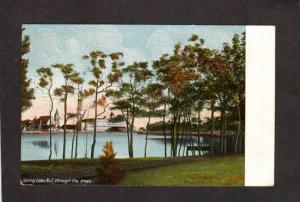 NJ Spring Lake Hotel New Jersey Vintage Postcard 1912