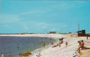 Florida Panama City St Andrews State Park Beach Scene