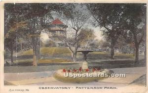 Observatory, Patterson Park Baltimore MD 1908