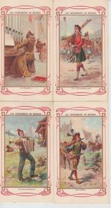 INSTRUMENT DE MUSIQUE PEOPLE 18 Small size Litho Cartes Postales 1900-1920.