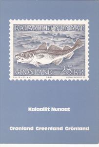 Stamps Of Greenland 1981 Issue