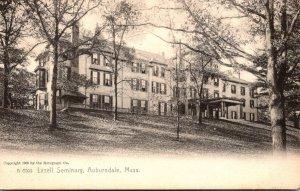 Massachusetts Auburndale Lasell Seminary Rotograph