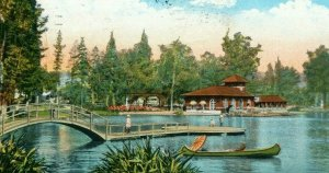 Postcard Early View of Lincoln Park in Los Angeles, CA.      R7