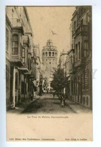 132857 TURKEY CONSTANTINOPLE Tour de Galata Vintage PC