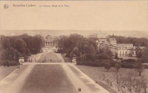 Belgium Brussels Bruxelles Laeked Le Chateau Royal Et Le Parc