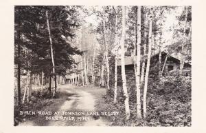 RP; DEER RIVER, Minnesota, 40-50s; Johnson Lake Resort