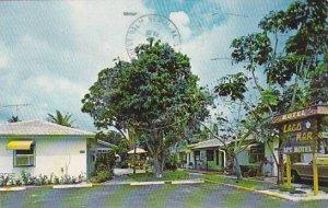 Florida Lake Worth Lago Mar Motel & Restaurant 1980