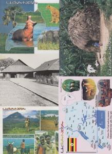 UGANDA 22  AFRIQUE Cartes Postales 1960-1990.