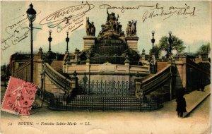 CPA ROUEN-Fontaine Ste-MARIE (348494)