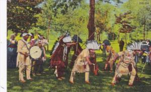 Indian War Dance Wisocnsin Curteich