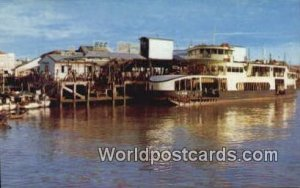 Malayan Railway Pier Penang Malaysia Unused