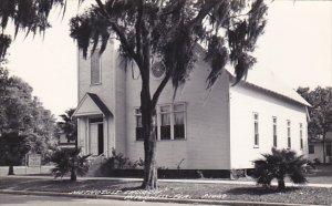 Florida Inverness Methodist Church Real Photo