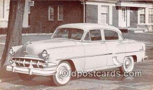 1954 Chevrolet Two Ten 4 Door Sedan Auto, Car Writing on back