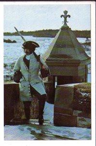 Fortress of Louisbourg, Sentry, Nova Scotia, Parks Canada