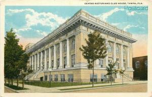FL, Tampa, Florida, Centro Austuriano Club House, Tichnor No. A-51222