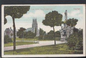 Hampshire Postcard - The Park, Southampton    DC2402