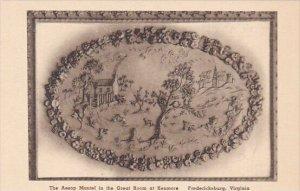 The Aesop Mantel In The Great Room At Kenmore Fredericksburg Virginia Albertype