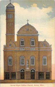 Massachusetts  Boston,  Sacred Heart Italian Church,
