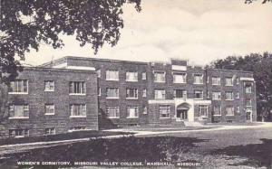 Missouri Marshall Womens Dormitory Missouri Valley College Artvue