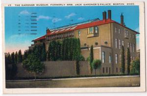 Gardner Museum, , Boston MA