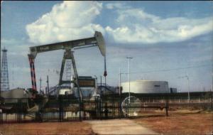 Oil Derrick Venezuela - Maracaibo Cover 1964 Postcard