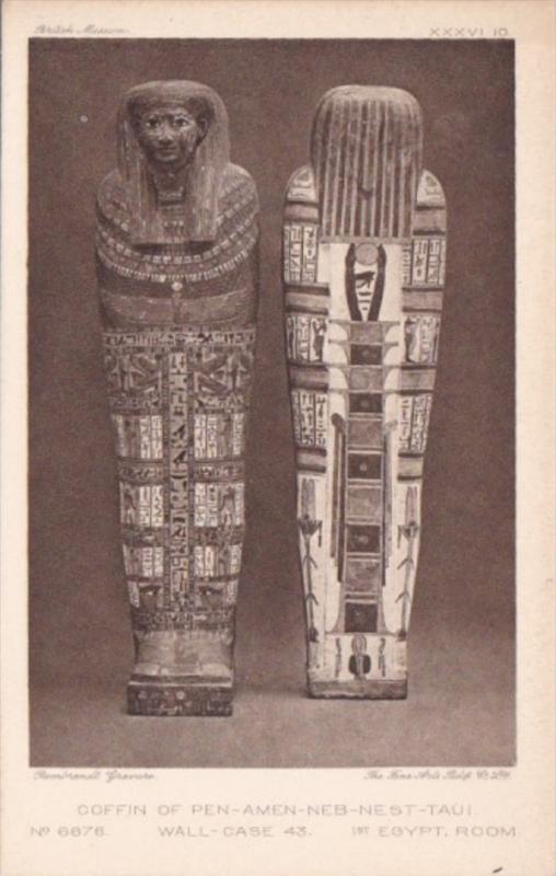 Egypt Coffin Of Pen-Amen-Neb-Nest-Taui
