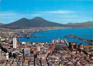 Postcard Italy Napoli Panorama sea