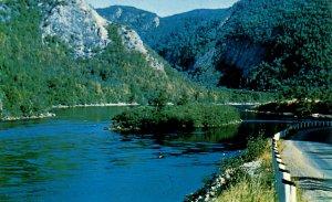 Canada - New Foundland, Corner Brook. Shellbird Island, Humber River