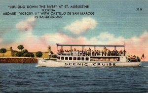 Florida St Augustine Cruising Down The River Aboard Victory II