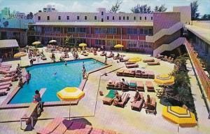 Florida Miami Beach Motel Ankara The Resort Motel With Pool 1968