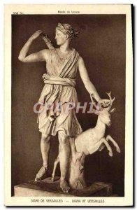 Old Postcard Diane De Versailles Paris Louvre Museum