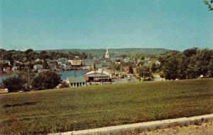 Machias Maine Scenic View Vintage Postcard JA4741436