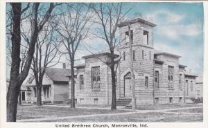 United Brethern Church, MONROEVILLE, Indiana, 10-20s