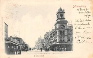 South Africa Johannesburg, Rissik Street animated, Central 1903
