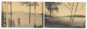 2PC's, Looking North, View From The Ledges, Newfound Lake, New Hampshire,  19...