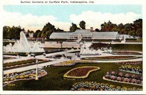 Indiana Indianapolis Garfield Park Sunken Gardens