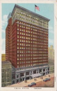 Illinois Chicago Y M C A Hotel 1950 Curteich