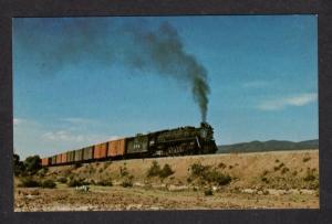 N De M Mexico Railroad Train Loco 3028 Meja Hgo RR Postcard NDeM Alco